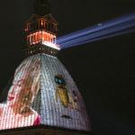 videomapping museo cinema torino mole antonelliana