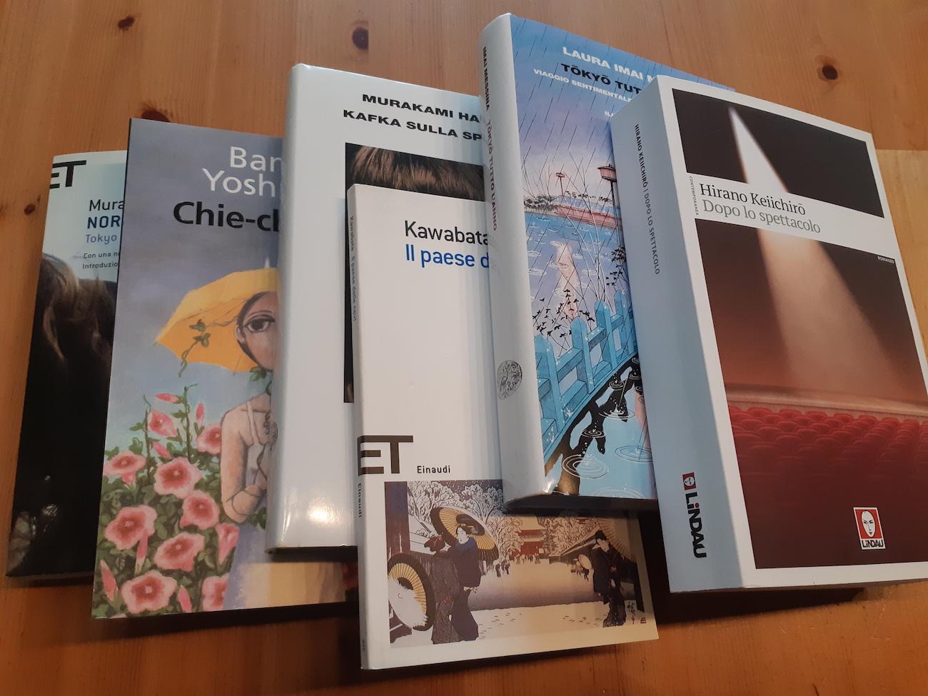 libri autori giappone