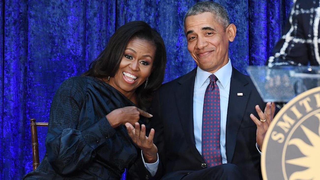 Michelle e Barack Obama Potus