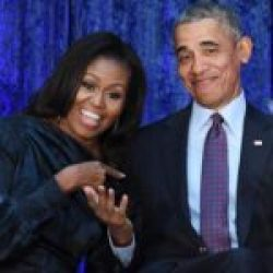 Michelle e Barack Obama Potus
